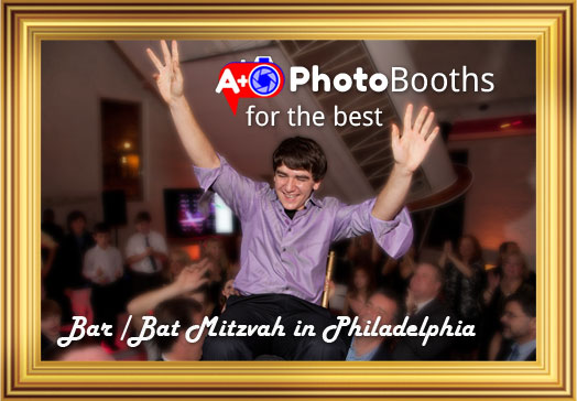 A Plus Photo-booths for the best Bar / Bat Mitzvah in Philadelphia